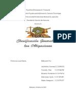 Clasif. de Las Obligaciones Civiles