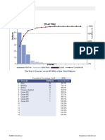Excel Pareto Chart Template