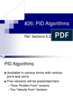 PID Algorithms (Topic 26) تم