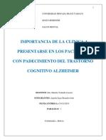 Monografía - Alzheimer- Salud Mental- Brandon Julio Agreda Sejas p1