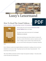 How to Read the Grand Tableau - Part I - Lozzy's Lenormand