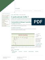A Quelle Période Greffer _ _ Greffer.fr