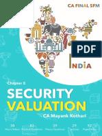 5. Security Valuation , SFM Notes by CA Mayank Kothari