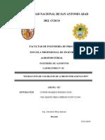 LABORATORIO N°02 DE EXTRACCION DE COLORANTE DE ACHIOTE POR LIXIVIACION