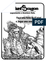 Poket Dragon - Suplemento (Aventura Solo)