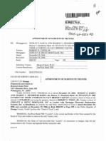 Chamagne Williams Authorized Signatory OneWest Bank FSB 6.10.2009