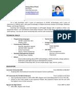 [Developer][Pham Huy Hoang] CV.pdf