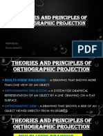 Theory of Principle of Orthographic Projection