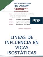 L .I. VIGAS ISOSTATICAS Y METODO DE  RIGIDEZ EN PORTICOS (KARDESTUNCER)_polino.pptx