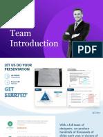 Team Introduction Creative