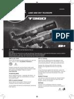 Telescope T360 Manual