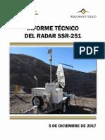 Informe Técnico Radar SSR-251