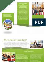 brochure for fluency