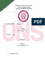 Universiad Nacional Del Santa Informe Del Vino