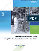 Pharmaceutical Waters Guide for Regulatory Compliance Analysis and Real Time Release
