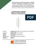 Justifikasi Teknis Perubahan Volume Pekerjaan - PDF Download Gratis