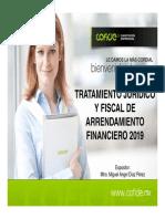 Tratamiento Juridico y Fiscal de Arrendamiento PDF