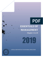 _notes Essentials of Management- 1 to 10 Chapters