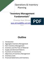 Week 4 DOIP (Inventory Management Fundamentals)