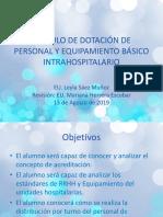 2019 Sistema Turno Calculo de Material y Equipamiento Basico Intrahospitalario