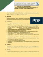 Propuesta de Directiva de Supervision de Obra en La Mpsrj