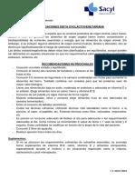 Recomendaciones Dieteticas Ovolactovegetariana 2000