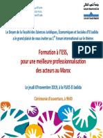 Invitation Forum ESS