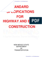 Standard Specifications for Highway and Bridge Construction- By EasyEngineering.net