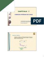 Capítulo 7 - Fuerzas Internas en Vigas.pdf