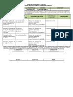 Plan de Mejoramiento 9-1-2- 3 Mat