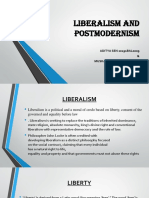 Liberalism and Postmodernism