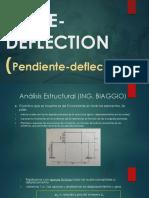 slope deflexion
