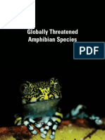 Globally Threatened Amphibian Species