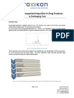 Identification of Impurities