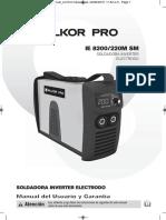 Ie 8200-220m Sm Salkor Pro Manual