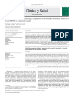 Mindfulness and Psychopathology Adaptation of the Mindful Att 2014 Cl Nica