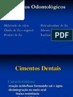 cimentos odontológicos - ortodontia