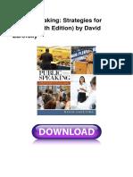 Public Speaking Strategies for Success 7
