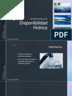 Disponibilidad Hidrica.pdf