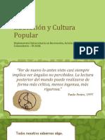 Educación y Cultura Popular