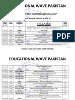 10th RTS Description EWP (Final Syllabus)
