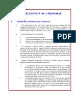 Proposal in English Language Research