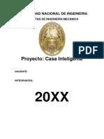 Informe Casa Inteligente