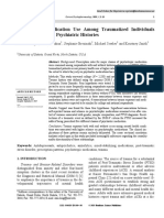 Psychotropic Medication Use Among Traumatized Individuals With and Without Psychiatric Histories