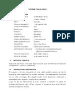 Modelo de informe Eysenk B