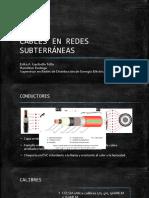 CABLES EN REDES SUBTERRÁNEAS.pptx