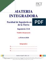 Lineamientos de Materia Integradora 2019-II FINAL