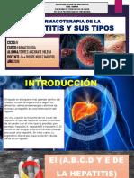 Farmacoterapia de La Hepatitis