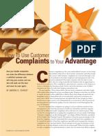customer complaints to your advantage.pdf