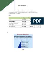 Examen Costos y Presupuestos